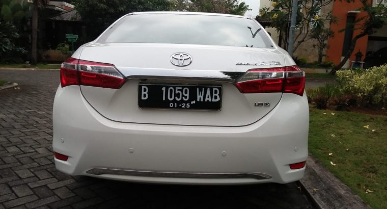 Toyota Corolla Altis V AT 2013 Facelift Full Ori
