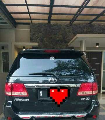 Fortuner G Luxury 2.7 2006