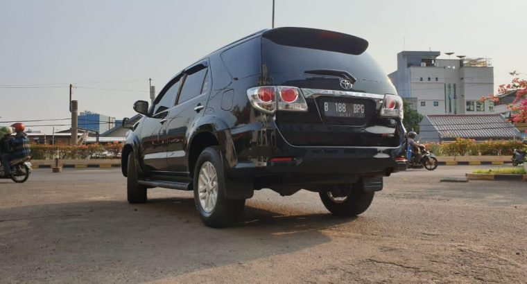 Fortuner 2.5 type G AT 2013