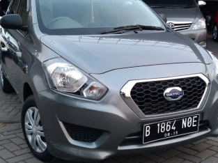Datsun Go+ Manual 2014 Abu-abu